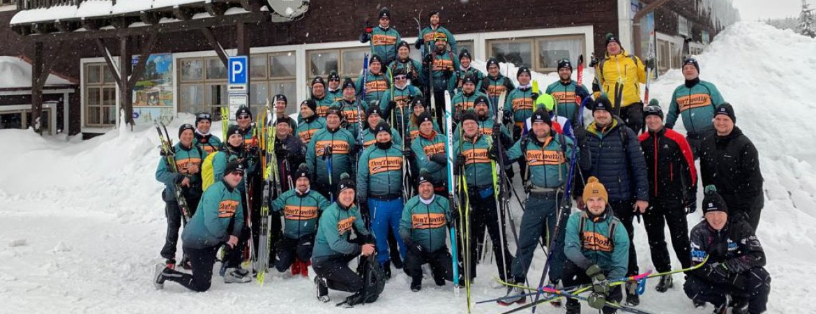 HOPI skiers help good things